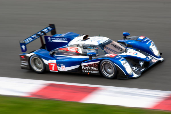 10th/11th&12th September 2011Silverstone, Northants.Pagenaud / Bourdais (#7 Peugeot Sport Total Peugeot 908, LMP1). Action.Image Copyright Malcolm Griffiths/LATDigital Image _H0Y1891 jpg
