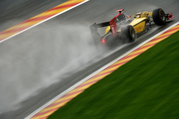 Spa - Francorchamps, Spa, Belgium. 26th August. Friday Qualifying. Romain Grosjean (FRA, Dams). Action. Photo: Drew Gibson/GP2 Media Service. Ref: _Y2Z0193 jpg
