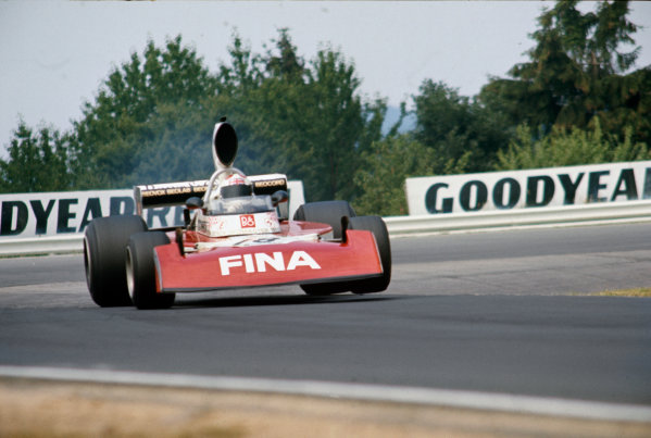 Nurburgring, Germany. 2nd - 4th August 1974.Derek Bell (Surtees TS16-Ford), 11th position, action. World Copyright: LAT Photographic.Ref:  74GER