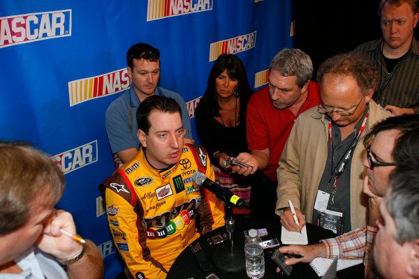 16 February, 2012, Daytona Beach, Florida USAKyle Busch, M&M's Toyota Camry(c)2012, LAT SouthLAT Photo USA