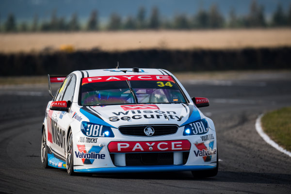 2017 Supercars Championship Round 2.  Tasmania SuperSprint, Simmons Plains Raceway, Tasmania, Australia. Friday April 7th to Sunday April 9th 2017. James Moffat drives the #34 Wilson Security Racing GRM Holden Commodore VF. World Copyright: Daniel Kalisz/LAT Images Ref: Digital Image 070417_VASCR2_DKIMG_1588.JPG