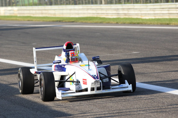 Race winner Jack Harvey (GBR) Fortec Motorsports.