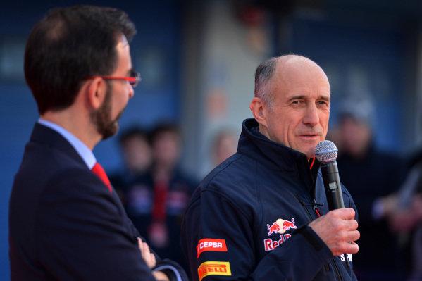 Franz Tost (AUT) Scuderia Toro Rosso Team Principal. Scuderia Toro Rosso STR9 Launch, Jerez, Spain, Monday 27 January 2014.