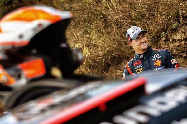 Dani Sordo (ESP) Hyundai i20 WRC. FIA World Rally Championship, Rd5, Rally Argentina, Preparations and Shakedown, Cordoba-Villa Carlos Paz, Argentina, 8 May 2014.