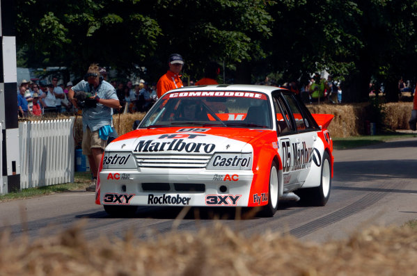 2005 Goodwood Festival of SpeedGoodwood Estate, West Sussex. 24th - 26th June Peter Brock, Holden Commodore. Action World Copyright: Jeff Bloxham/LAT Photographicref: Digital Image Only