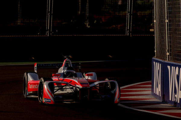 2016/2017 FIA Formula E Championship. Marrakesh ePrix, Circuit International Automobile Moulay El Hassan, Marrakesh, Morocco. Saturday 12 November 2016. Nick Heidfeld (GER), Mahindra Racing, Spark-Mahindra, Mahindra M3ELECTRO.  Photo: Zak Mauger/LAT/Formula E ref: Digital Image _L0U6553