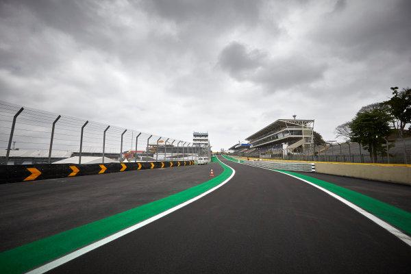 Interlagos, Sao Paulo, Brazil. Thursday 6 November 2014. A view of the track. World Copyright: Steve Etherington/LAT Photographic. ref: Digital Image SNE15215