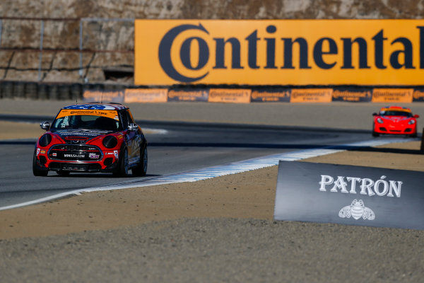 IMSA Continental Tire SportsCar Challenge Mazda Raceway Laguna Seca 240 Mazda Raceway Laguna Seca Monterey, CA USA Friday 22 September 2017 73, MINI, MINI JCW, ST, Derek Jones, Mat Pombo World Copyright: Jake Galstad LAT Images