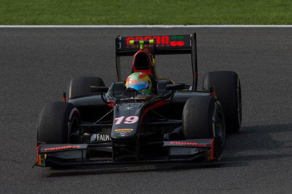 2017 FIA Formula 2 Round 8. Spa-Francorchamps, Spa, Belgium. Sunday 27 August 2017. Roberto Merhi (ESP, Rapax).  Photo: Alastair Staley/FIA Formula 2. ref: Digital Image _X0W3297