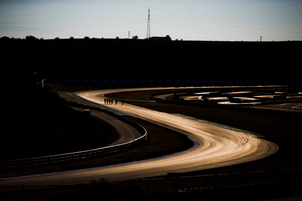 2017 FIA Formula 2 Round 10. Circuito de Jerez, Jerez, Spain. Thursday 5 October 2017. A view of the track. Photo: Zak Mauger/FIA Formula 2. ref: Digital Image _X0W9318