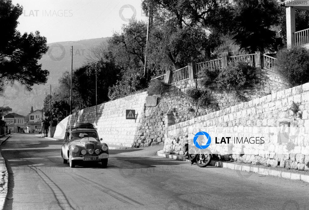 1953 Monte Carlo Rally.