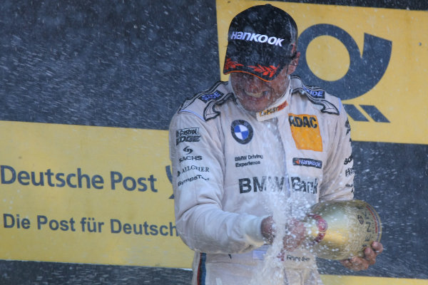 Round 8 - Oschersleben, Germany.14th - 16th September 2012.Winner, Bruno Spengler (CAN) BMW Team Schnitzer BMW M3 DTM.World Copyright: Schaber / XPB Images / LAT Photographicref: Digital Image 2354916_HiRes