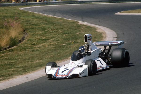 Carlos Reutemann, Brabham BT44B Ford.