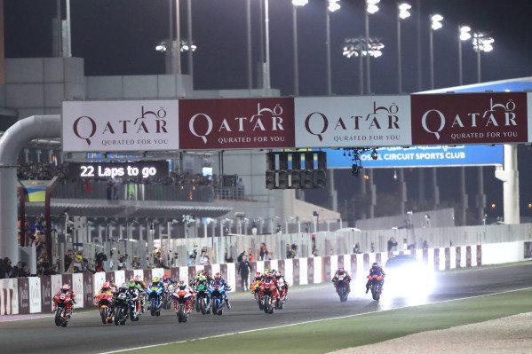 Andrea Dovizioso, Ducati Team leads.