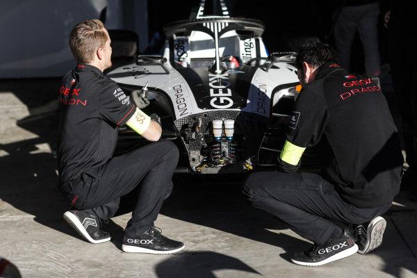 Car of Maximilian Günther (DEU), Dragon Racing, Penske EV-3