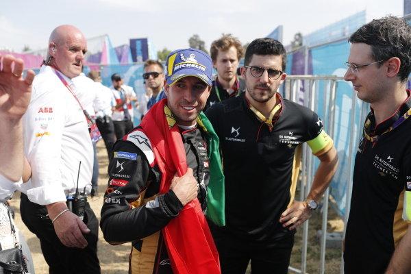 Antonio Felix da Costa (PRT), DS Techeetah after the podium