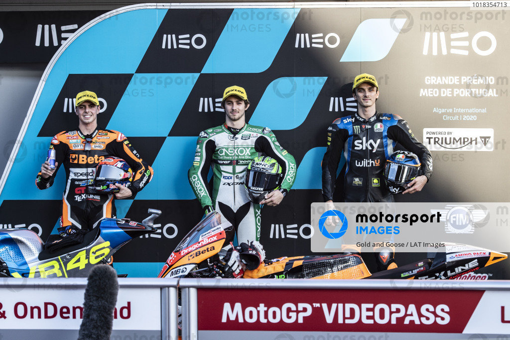 Fabio Di Giannantonio, Speed Up Racing, Remy Gardner, SAG Racing Team, Luca Marini, Sky Racing Team VR46.