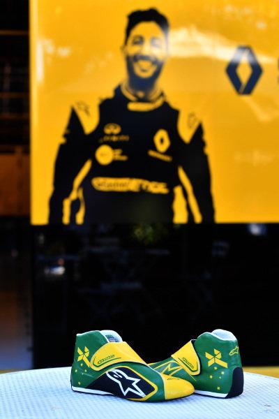 Daniel Ricciardo, Renault F1 Team boots