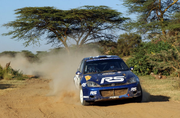 2002 World Rally Championship.Safari Rally, Nairobi Kenya, July 11-14th.Markko Martin on section 10.Photo: Ralph Hardwick/LAT