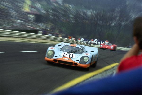 Jo Siffert / Derek Bell, J. Wyer, Porsche 917K 029.