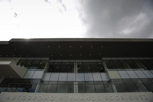 Autodromo Hermanos Rodriguez signage at Formula One World Championship, Rd19, Mexican Grand Prix, Preparations, Circuit Hermanos Rodriguez, Mexico City, Mexico, Thursday 27 October 2016.