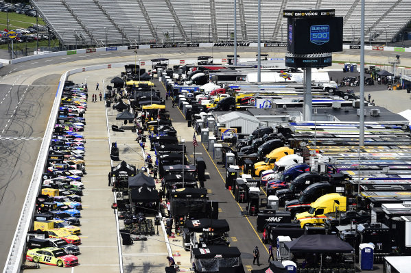 A general view of cars on the grid, Copyright: Jared C. Tilton/Getty Images.