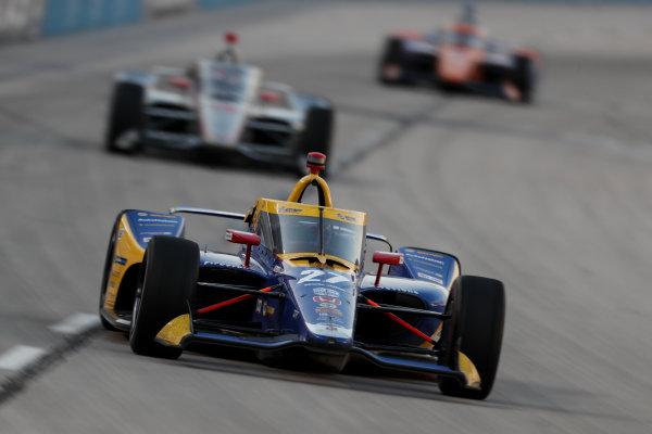 Alexander Rossi, Andretti Autosport Honda Copyright: Joe Skibinski - IMS Photo