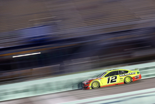 Ryan Blaney, Team Penske Ford Menards/Jack Links, Copyright: Chris Graythen/Getty Images.