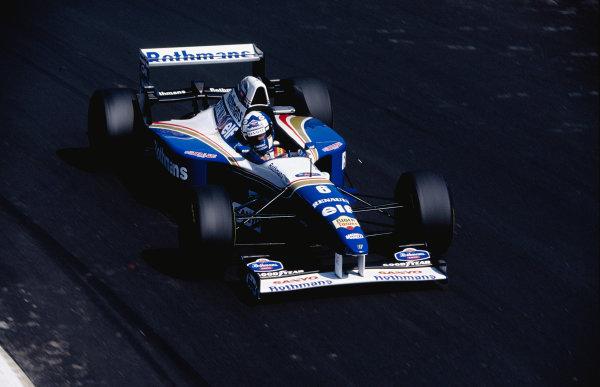 1995 Italian Grand Prix.Monza, Italy. 8-10 September 1995.David Coulthard (Williams FW17 Renault).Ref-95 ITA 50.World Copyright - LAT Photographic