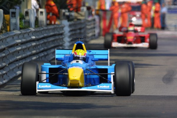 2001 F3000 Championship - RaceMonte Carlo, Monaco. 26th May 2001World Copyright - Rose/LAT Photographicref: 8 9 MB Digital
