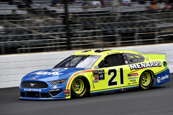 #21: Paul Menard, Wood Brothers Racing, Ford Mustang Menards / Dutch Boy