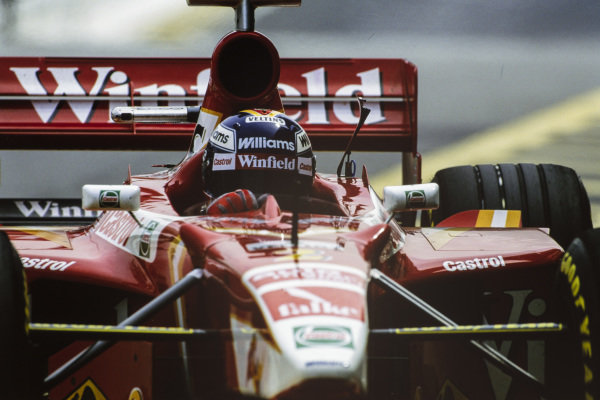 Heinz-Harald Frentzen, Williams FW20 Mecachrome.