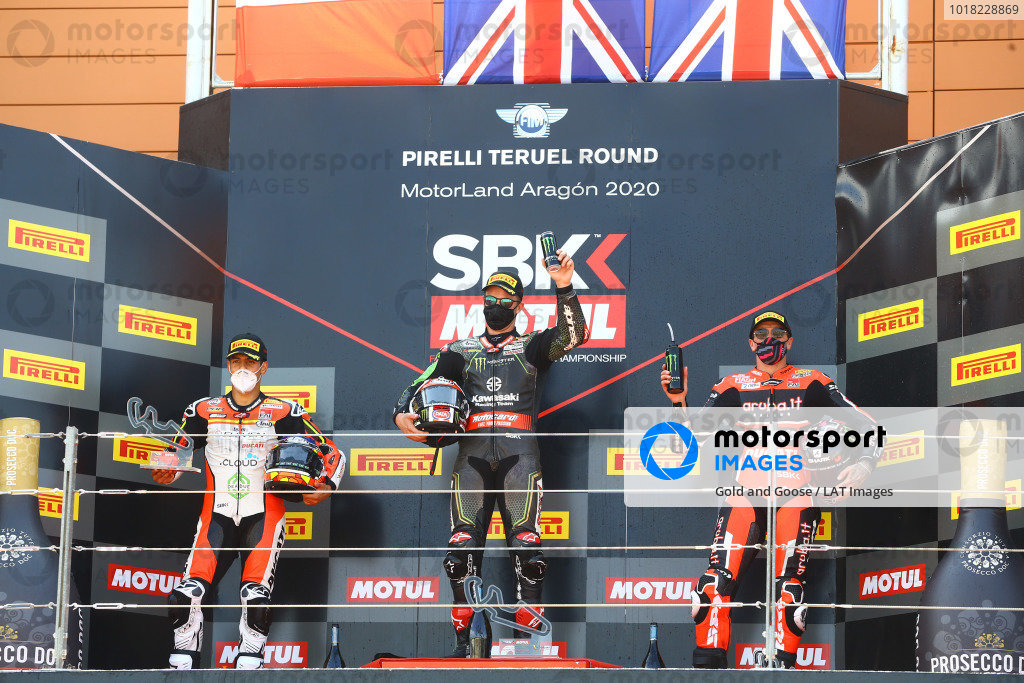Michael Ruben Rinaldi, Team Goeleven, Jonathan Rea, Kawasaki Racing Team, Scott Redding, Aruba.it Racing Ducati.