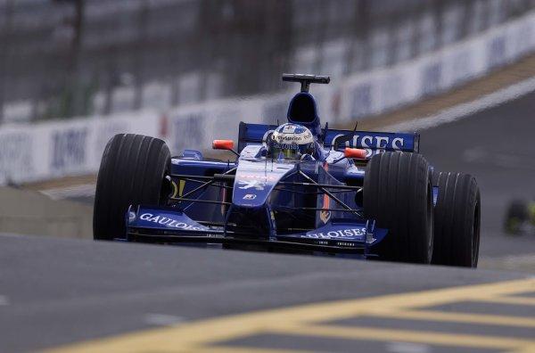 2000 Brazilian Grand Prix.Interlagos, Sao Paulo, Brazil.24-26 March 2000.Jean Alesi (Prost AP03 Peugeot).World Copyright - LAT Photographic