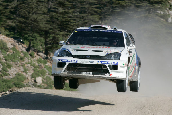 2004 FIA World Rally Champs. Round seven, Rally Turkey.24th- 27th June 2004.Marrko Martin, Ford, action.World Copyright: McKlein/LAT