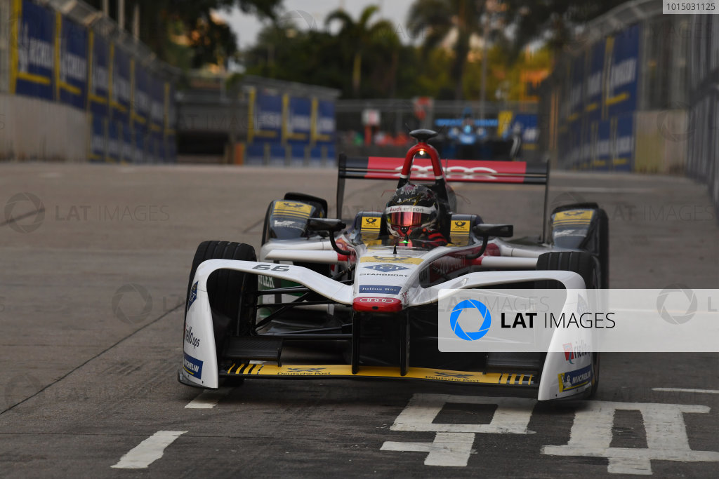 2017/2018 FIA Formula E Championship. Round 1 - Hong Kong, China. Saturday 02 December 2018. Daniel Abt (GER), Audi Sport ABT Schaeffler, Audi e-tron FE04. Photo: Mark Sutton/LAT/Formula E ref: Digital Image DSC_8466