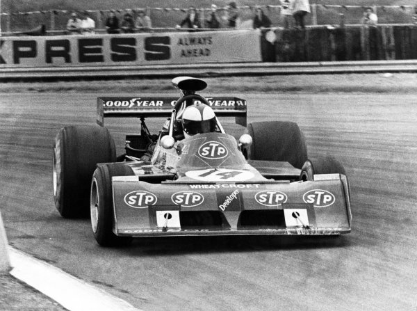 1973 British Grand Prix.Silverstone, Great Britain. 14 July 1973.Roger Williamson, March 731-Ford, retired, action.World Copyright: LAT Photographic