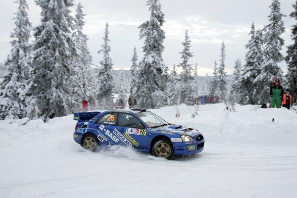 2007 FIA World Rally ChampionshipRound 3Rally of Norway 200715th - 18th February 2007Rune Dalsjo, Subaru, Action.Worldwide Copyright: McKlein/LAT