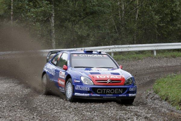 2006 FIA World Rally Champs. Round 6Rally Japan. 1st-3rd September 2006Sebastien Loeb, Citroen, actionWorld Copyright: McKlein/LAT
