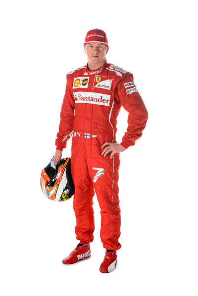Ferrari F14 T Online Launch Images 25 January 2014 Kimi Raikkonen, Ferrari Photo: Ferrari (Copyright Free FOR EDITORIAL USE ONLY) ref: Digital Image 140008eve