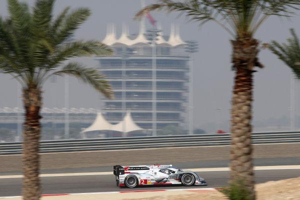 2013 FIA World Endurance Championship,Bahrain, 28th-30th December 2013,Tom Kristensen / Loic Duval / Allan McNish Audi R18 e-tron quattroWorld Copyright: Ebrey/LAT Photographic