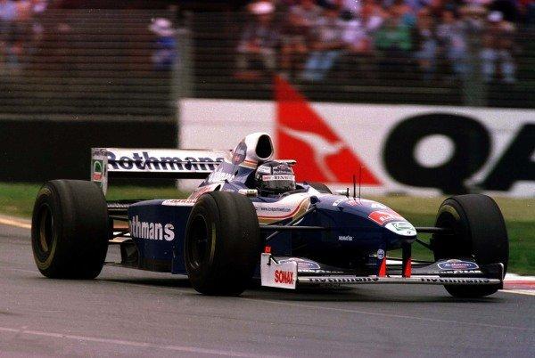1997 Australian Grand Prix.Albert Park, Melbourne, Australia.7-9 March 1997.Heinz-Harald Frentzen (Williams FW19 Renault) 8th position after brakes failed.World Copyright - LAT Photographic