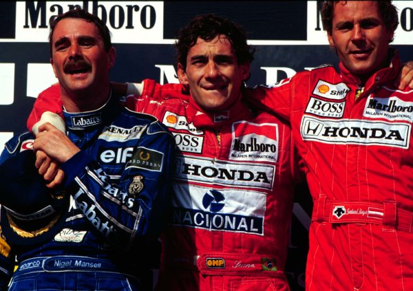 The best shots from Ayrton Senna's 80 podium finishes