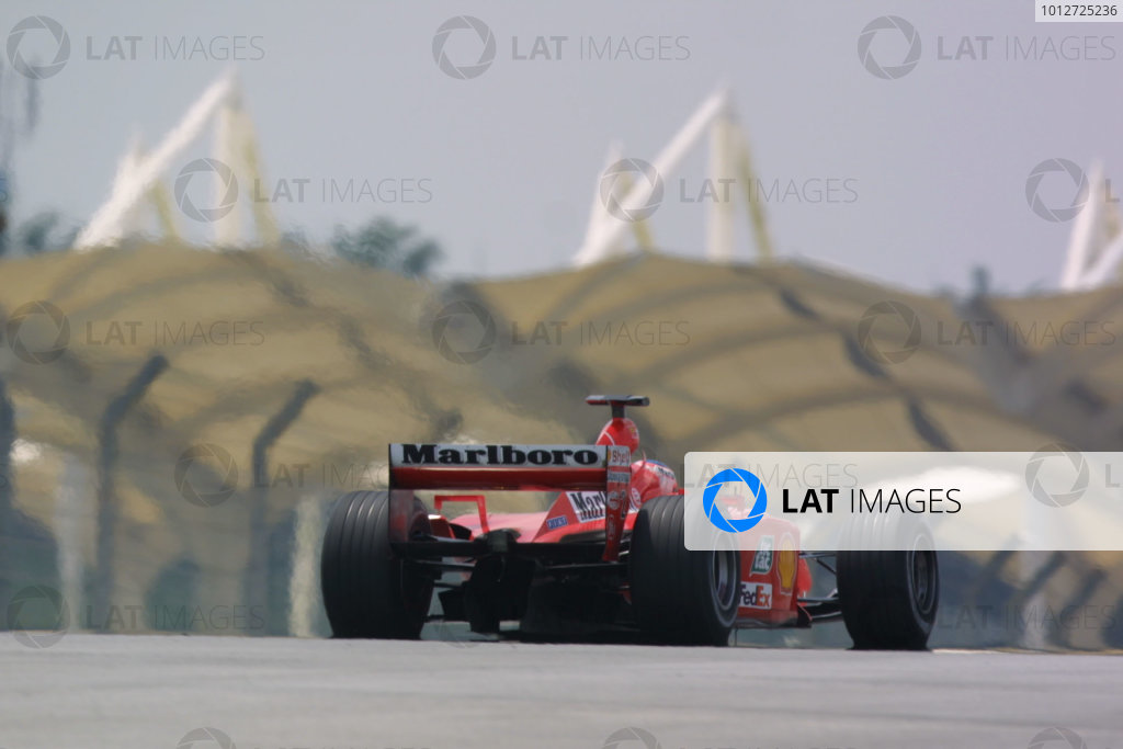 2001 Malaysian Grand Prix.