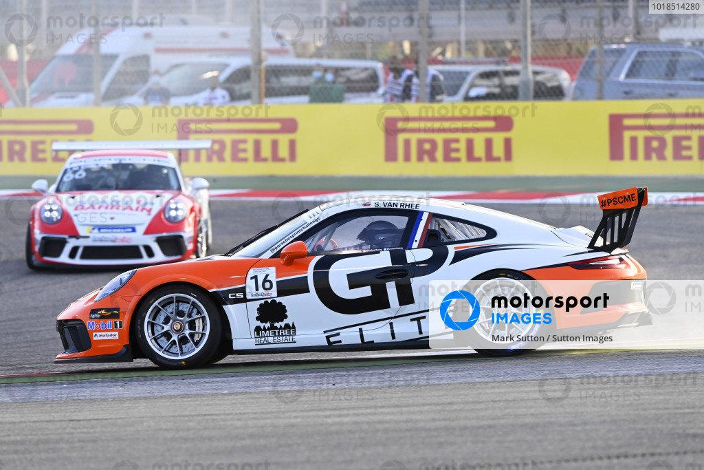 S. Van Rhee, GP Elite, rejoins ahead of Jaber Al Khalifa (BAH), Team Bahrain