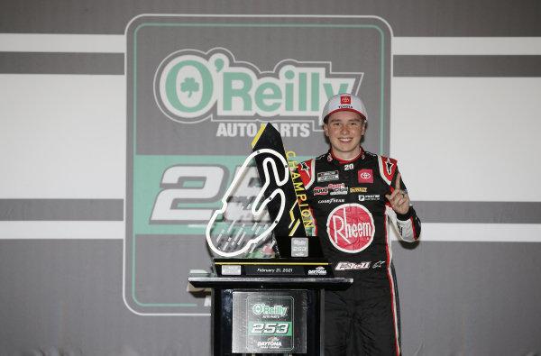 #20: Christopher Bell, Joe Gibbs Racing, Toyota Camry Bass Pro Shops