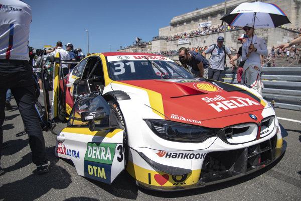 Grid, Shelton van der Linde, BMW Team RBM, BMW M4 DTM.