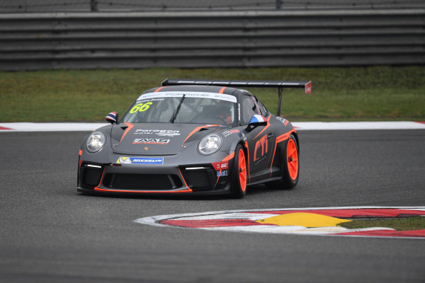 Maxime Jousse (THA) AAS Motorsport by Absolute Racing at Porsche Carrera Cup Asia, Shanghai, China, 13-15 April 2018.