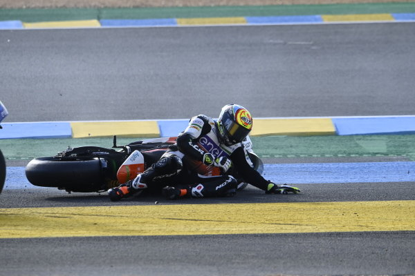 Crash of Niccolo Canepa, LCR E-Team.