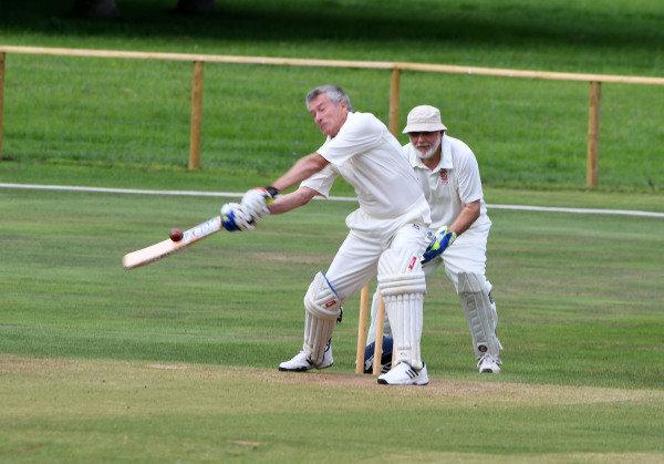 Goodwood Revival Cricket Match Tiff Needell